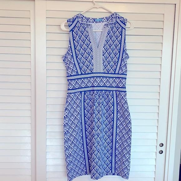 J.McLaughlin Summer Dress shell design